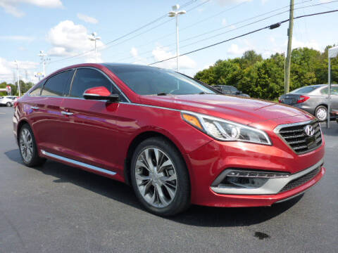 2015 Hyundai Sonata for sale at RUSTY WALLACE HONDA in Knoxville TN