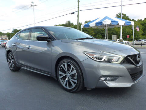 2016 Nissan Maxima for sale at RUSTY WALLACE HONDA in Knoxville TN