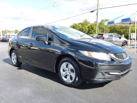 2015 Honda Civic for sale at RUSTY WALLACE HONDA in Knoxville TN