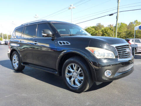 2011 Infiniti QX56 for sale at RUSTY WALLACE HONDA in Knoxville TN