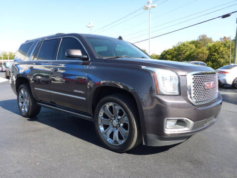 2015 GMC Yukon for sale at RUSTY WALLACE HONDA in Knoxville TN