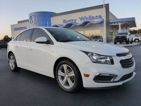 2015 Chevrolet Cruze for sale at RUSTY WALLACE HONDA in Knoxville TN