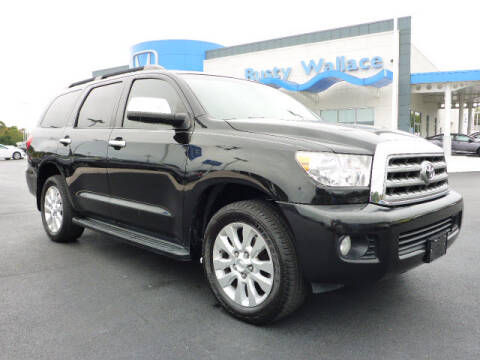 2011 Toyota Sequoia for sale at RUSTY WALLACE HONDA in Knoxville TN