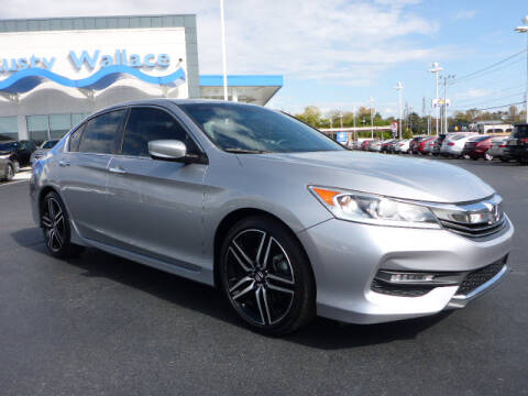 2016 Honda Accord for sale at RUSTY WALLACE HONDA in Knoxville TN