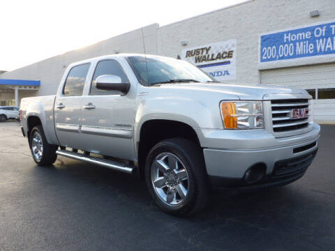 2013 GMC Sierra 1500 for sale at RUSTY WALLACE HONDA in Knoxville TN