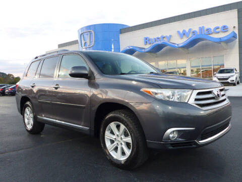 2012 Toyota Highlander for sale at RUSTY WALLACE HONDA in Knoxville TN