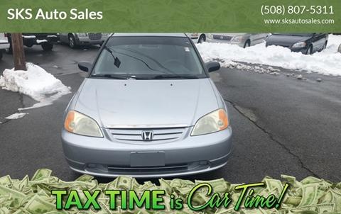 2003 Honda Civic for sale in Bridgewater, MA