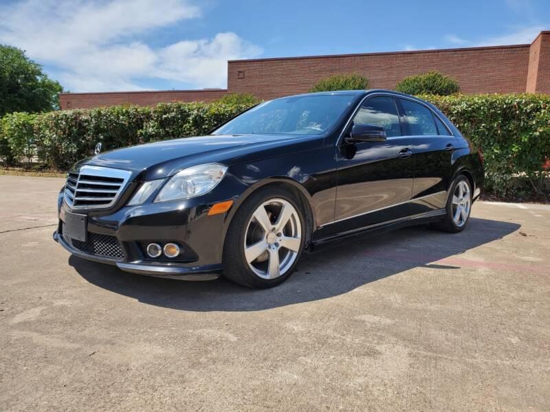 2010 Mercedes-Benz E-Class for sale at Italy Auto Sales in Dallas TX