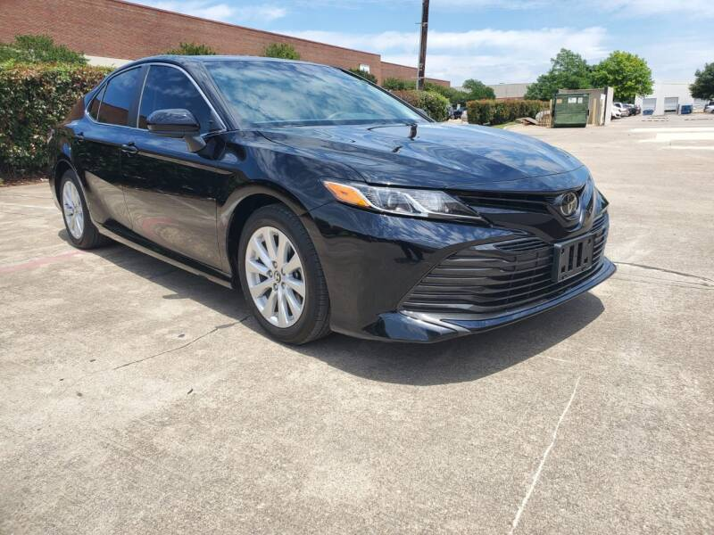 2018 Toyota Camry for sale at Italy Auto Sales in Dallas TX
