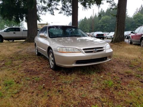 2000 Honda Accord for sale in Shelton, WA