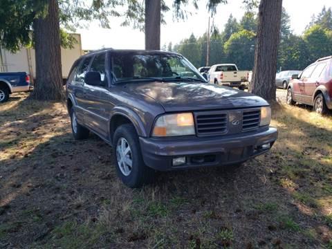 1998 Oldsmobile Bravada for sale in Shelton, WA