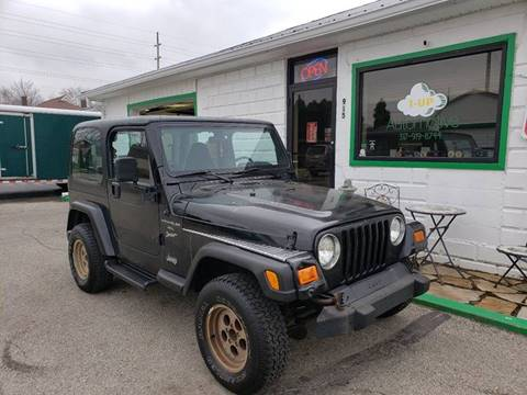 2000 Jeep Wrangler for sale in Lebanon, IN