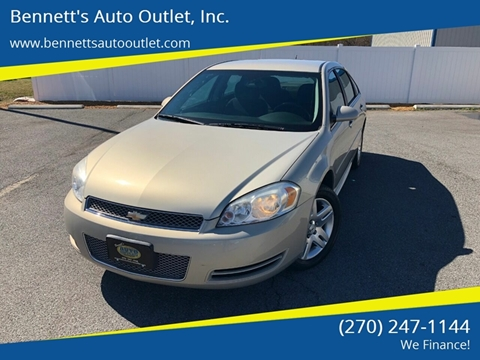 Used 2012 Chevrolet Impala For Sale in Kentucky ...