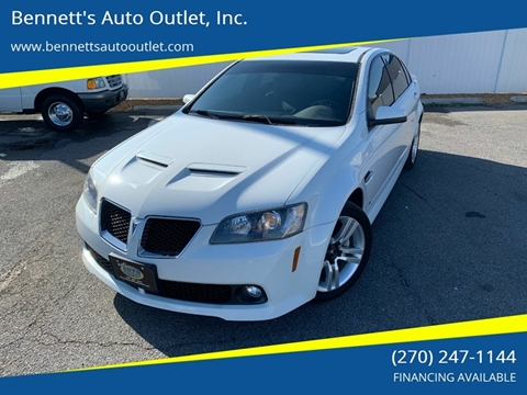 2009 Pontiac G8 for sale in Mayfield, KY