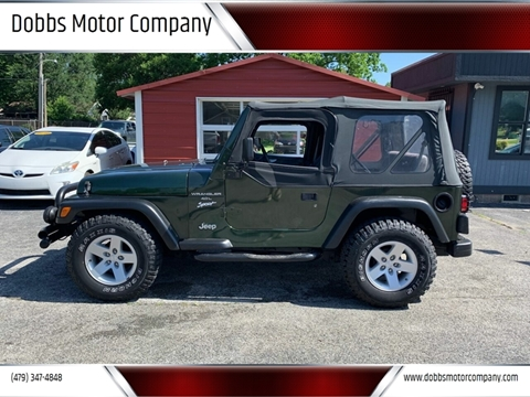 1998 Jeep Wrangler for sale in Springdale, AR