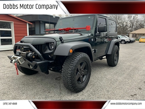 2011 Jeep Wrangler for sale at Dobbs Motor Company in Springdale AR