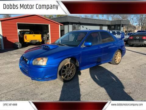 2005 Subaru Impreza for sale at Dobbs Motor Company in Springdale AR