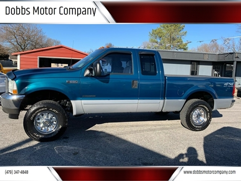2002 Ford F-250 Super Duty for sale at Dobbs Motor Company in Springdale AR