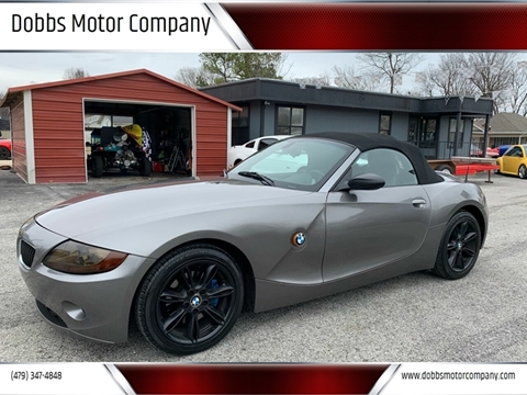 2004 BMW Z4 for sale at Dobbs Motor Company in Springdale AR