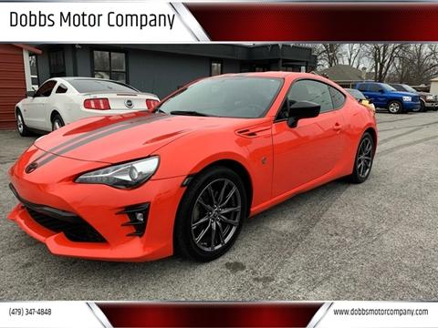 2017 Toyota 86 for sale at Dobbs Motor Company in Springdale AR