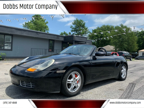 2001 Porsche Boxster for sale at Dobbs Motor Company in Springdale AR