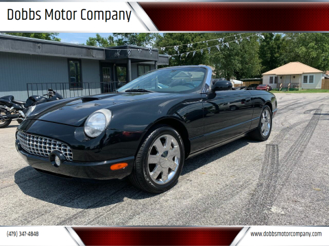 2002 Ford Thunderbird for sale at Dobbs Motor Company in Springdale AR