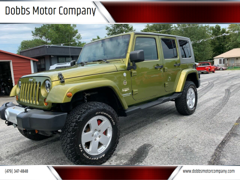 2010 Jeep Wrangler Unlimited for sale at Dobbs Motor Company in Springdale AR