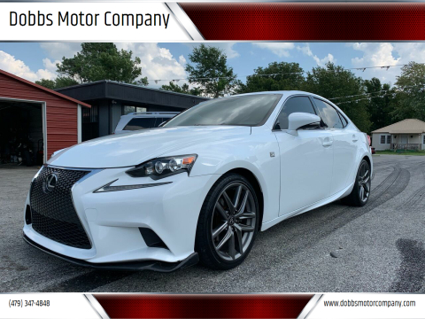 2015 Lexus IS 250 for sale at Dobbs Motor Company in Springdale AR