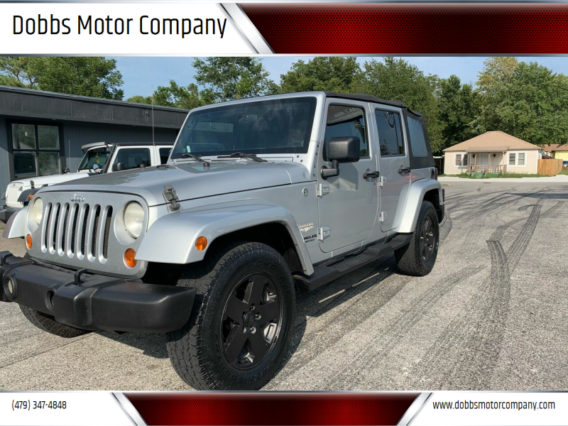 2007 Jeep Wrangler Unlimited for sale at Dobbs Motor Company in Springdale AR
