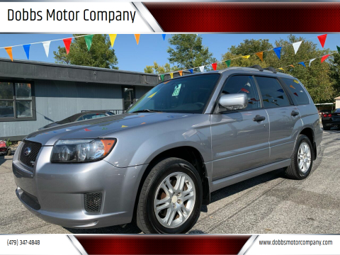 2008 Subaru Forester for sale at Dobbs Motor Company in Springdale AR