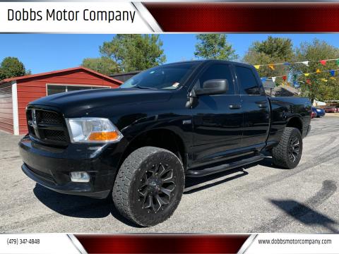 2012 RAM Ram Pickup 1500 for sale at Dobbs Motor Company in Springdale AR