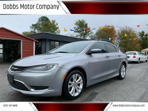 2015 Chrysler 200 for sale at Dobbs Motor Company in Springdale AR