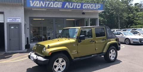 2008 Jeep Wrangler Unlimited for sale in Brick, NJ