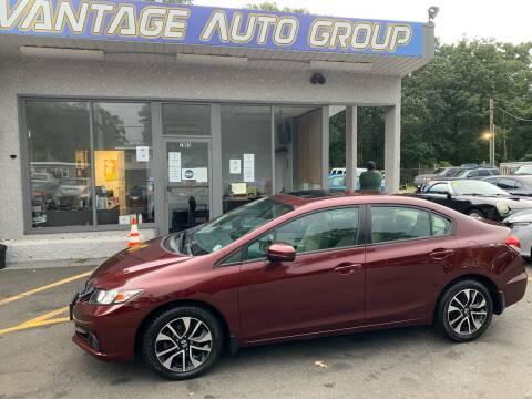 2015 Honda Civic for sale at Vantage Auto Group in Brick NJ