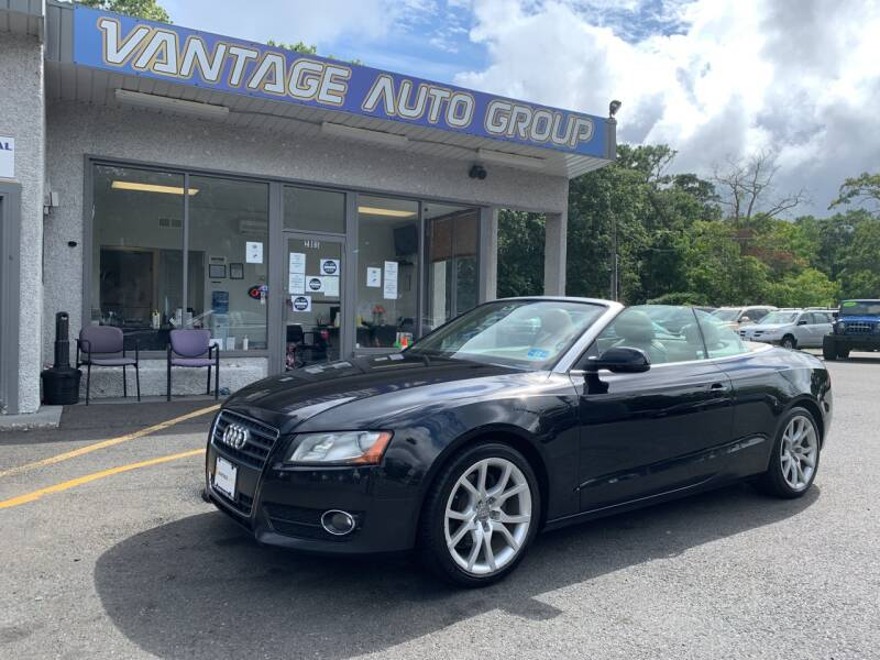 2012 Audi A5 for sale at Vantage Auto Group in Brick NJ