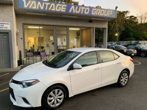 2016 Toyota Corolla for sale at Vantage Auto Group in Brick NJ