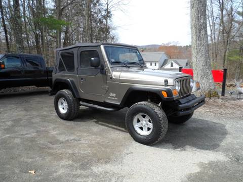 2003 Jeep Wrangler for sale in Hampden, MA