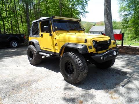 2002 Jeep Wrangler for sale in Hampden, MA