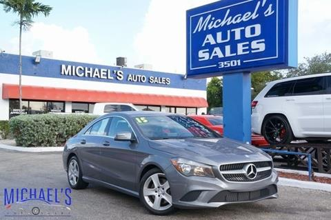 2015 Mercedes-Benz CLA for sale in Hollywood, FL