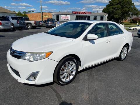 2012 Toyota Camry for sale at Modern Automotive in Boiling Springs SC