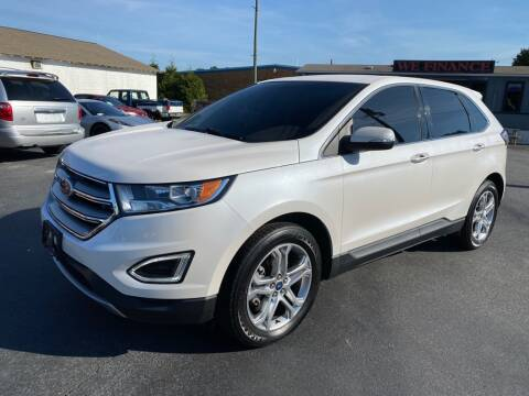 2017 Ford Edge for sale at Modern Automotive in Boiling Springs SC
