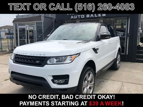2015 Land Rover Range Rover Sport for sale in Elmont, NY