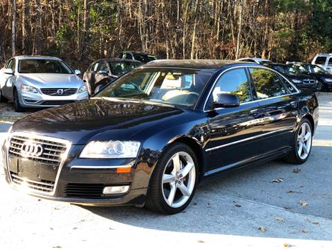 2008 Audi A8 L for sale at AMD Auto Sales in Cary NC