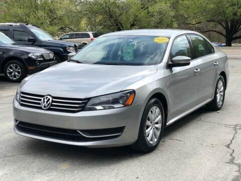 2013 Volkswagen Passat for sale at AMD Auto Sales in Cary NC