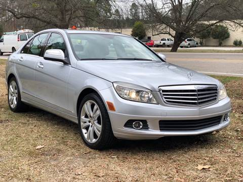 2008 Mercedes-Benz C-Class for sale at AMD Auto Sales in Cary NC