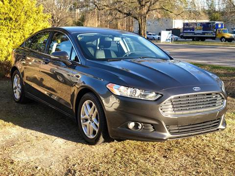 2016 Ford Fusion for sale at AMD Auto Sales in Cary NC
