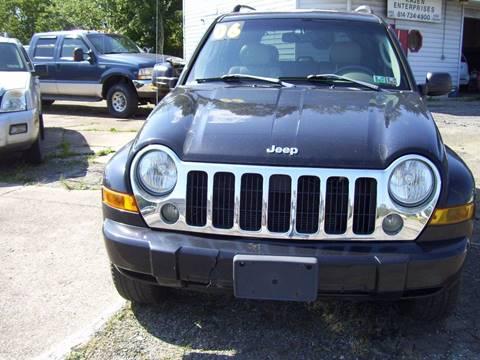 2006 Jeep Liberty for sale in Edinboro, PA