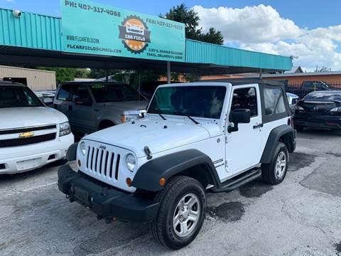 2011 Jeep Wrangler Sport for sale at Car Field in Orlando FL