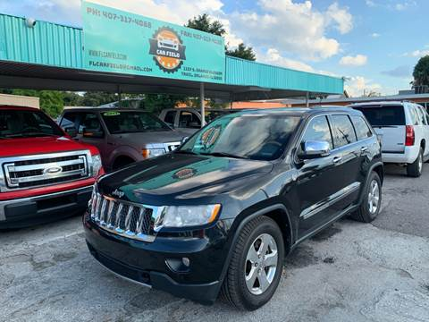 2012 Jeep Grand Cherokee Overland for sale at Car Field in Orlando FL