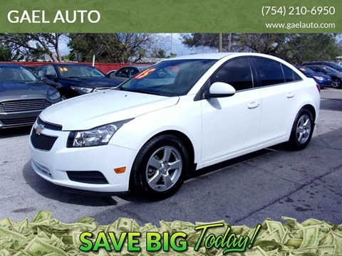 2014 Chevrolet Cruze for sale in Hollywood, FL